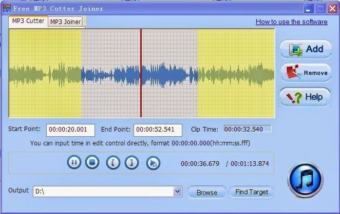 برنامج تقطيع الأغاني mp3 cutter للكمبيوتر برابط مباشر