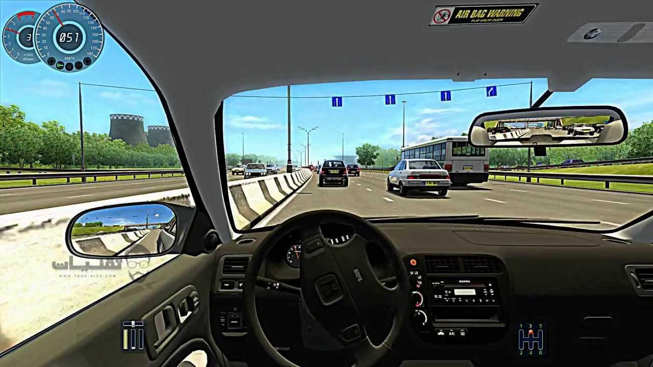 تحميل لعبة city car driving لسباق السيارات للهواتف الذكية والاندرويد