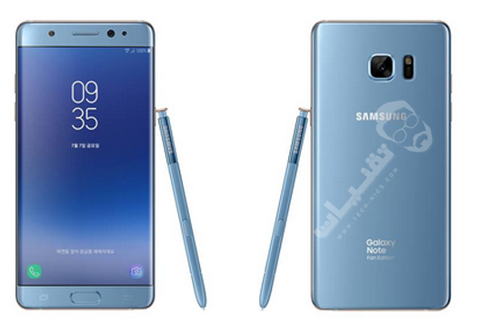 عيوب جوال Samsung Galaxy Note Fan Edition