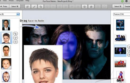 مميزات تحميل برنامج تركيب الوجه علي أي جسم