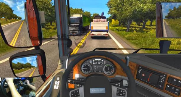 تحميل لعبة الشاحنة