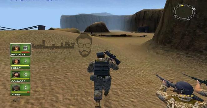 تحميل لعبة حرب العراق لعبة الأكشن والإثارة من ميديا فاير تقنيات