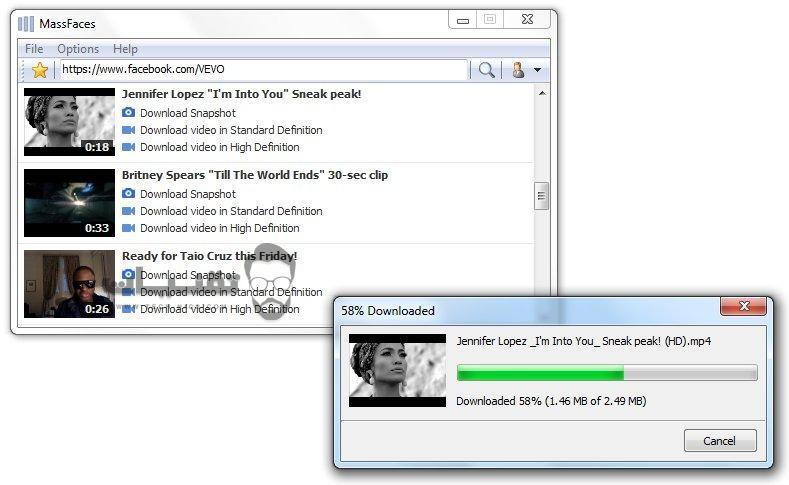 برنامج تحميل الفيديو من الفيس بوك للكمبيوتر