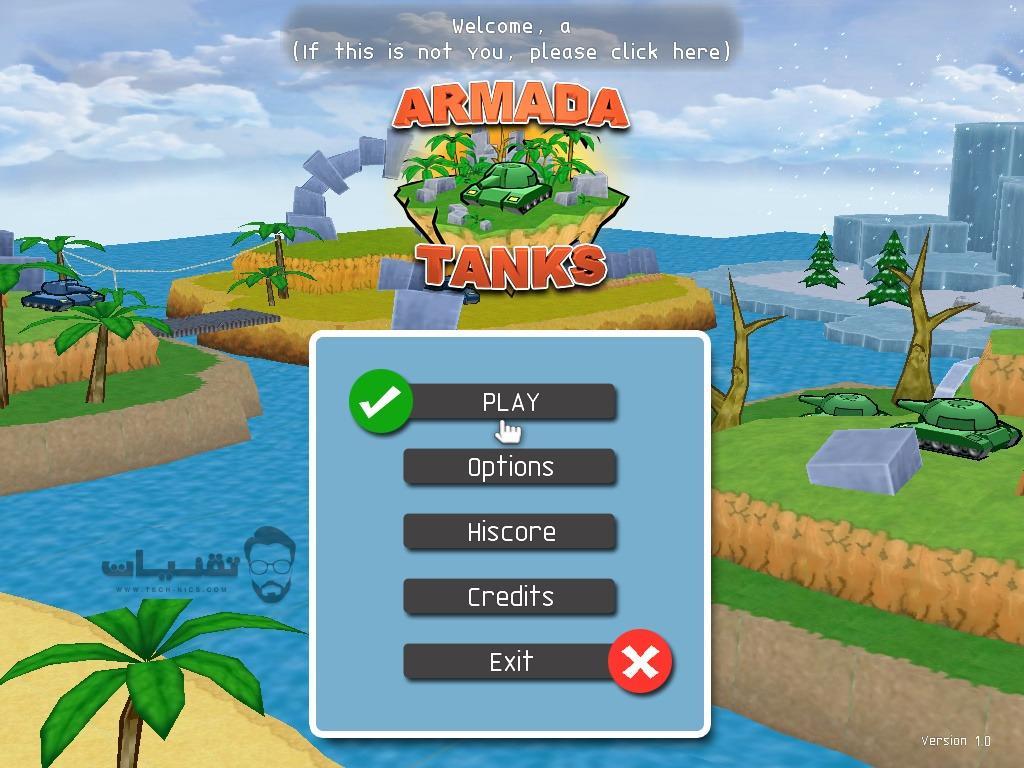 تحميل لعبة Armada Tanks للكمبيوتر