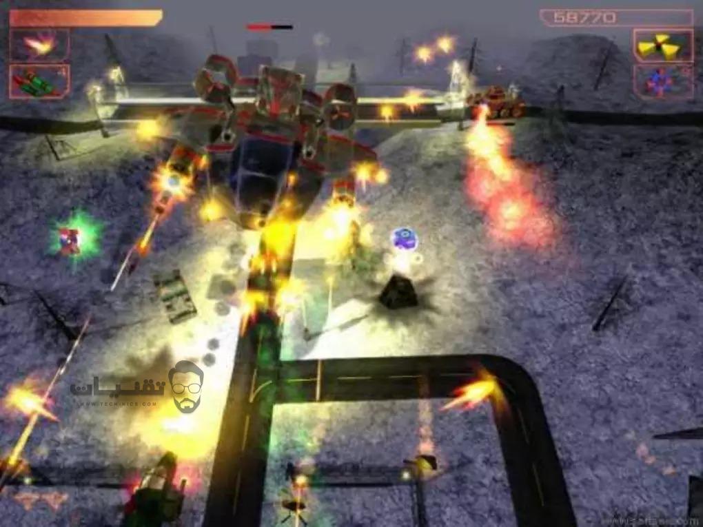 تحميل لعبة AirStrike 3D للكمبيوتر