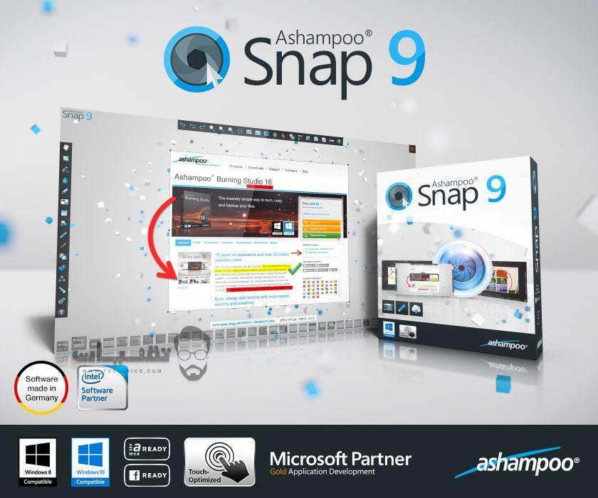 تحميل برنامج Ashampoo Snap 2019 للكمبيوتر