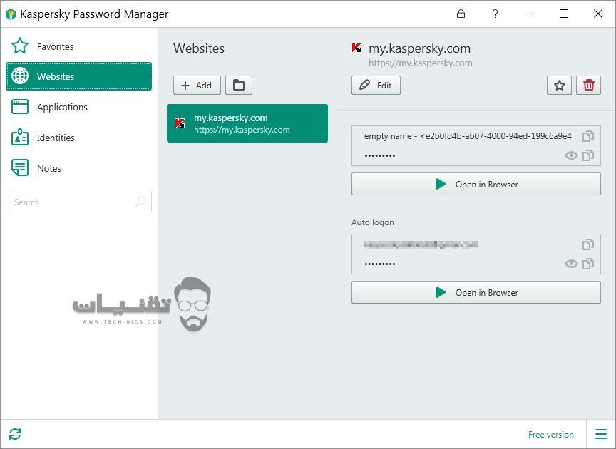 تحميل برنامج Kaspersky Password Manager 2019 للكمبيوتر