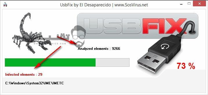 تحميل برنامج usbfix للكمبيوتر